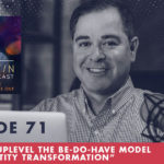 TheJimFortinPodcast EP71 You Can Uplevel The BE DO HAVE Model Using Identity